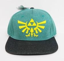 Bioworld Zelda Logo Snapback Hat - Green - $12.99