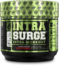 INTRASURGE Intra Workout Energy BCAA Powder Fruit Punch, 20sv - 6g BCAA ... - $23.84