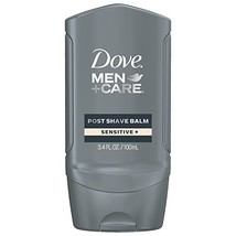 Dove Men+Care Face Care Post Shave Balm, Sensitive 3.4 oz image 1