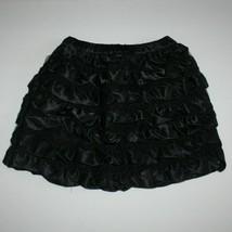 Hanna Anderson Girl Black Ruffle Skirt size (100) 3 4 5 - $19.99
