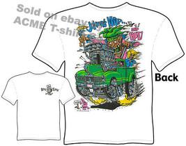 Rat Fink Shirts Hot Rod T Shirts Truck Tee Shirts Jokers Wild Hudson Pic... - $23.44+