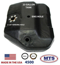 PLASTIC FUEL TANK MTS 4500 FITS 84 FORD BRONCO II 23GAL TOP W/ EMS NO VENT PIPE image 2