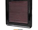 K&N Replacement Air Filter Fits Honda Fit L4-1.5L F-I; 2009-2013 33-2422