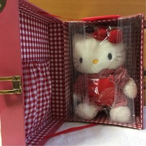 Hello Kitty Plush 1997 Trunk Type Box With Serial Number From Japan F/S - $132.29