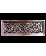 Decorative Greek Roman Hellenistic Scrolls Frame plaque Bronze Finish - $98.01