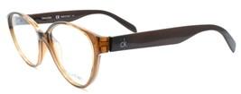 Calvin Klein CK5877 210 Women's Eyeglasses Frames Cat-eye 54-15-145 Brown ITALY - $43.74