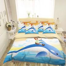 3D Dolphin Boy 26 Bed Pillowcases Quilt Duvet Single Queen King US Summer - $102.84+