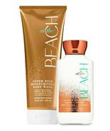 Bath & Body Works At The Beach Body Lotion + Moisturizing Body Wash Duo Set - $31.95
