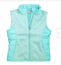 Free Country Girl's Hybrid Vest with Sherpa Lining Spearmint - $19.99