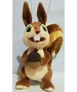 "Disney Sophia The First Plush Squirrel Whatnaught Stuffed Animal 10"" - $14.54"