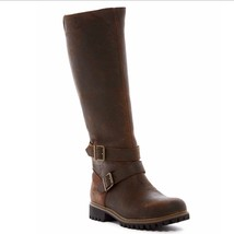 TIMBERLAND WOMEN'S WHEELWRIGHT TALL BUCKLE WATERPROOF BOOTS A15T3 SIZE:9 - $173.25