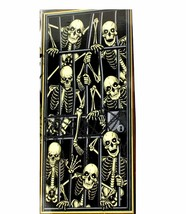 Gothic-SKELETON PRISONERS DOOR COVER MURAL-Halloween Party Decoration Pr... - $3.40