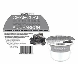 masque BAR Charcoal Peel Off Modeling Mask Grey - $6.85