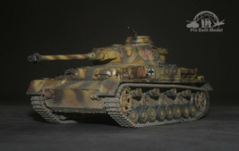 German Panzerkampfwagen IV Ausf.H/J WWII 1:35 Pro Built Model  - $222.75