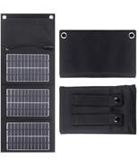Portable Folding Solar Panel 5V 1.5A USB Battery Charger Power Bank Gene... - $76.99