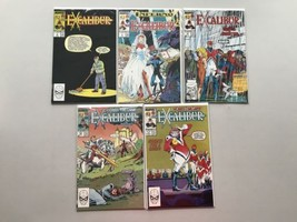 Lot of 10 Excalibur (1988 1st Series) from #4-23 VF Very Fine - $69.30