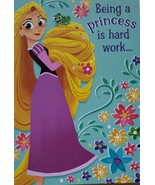 "Disney Tangled The Series Greeting Card Birthday ""Being a Princess is Ha... - $3.89"