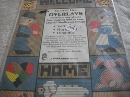 Charted Line Overlays-Turn Drawings into Charted Needlework Designs - $7.00