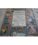 Charted Line Overlays-Turn Drawings into Charted Needlework Designs - $4.00