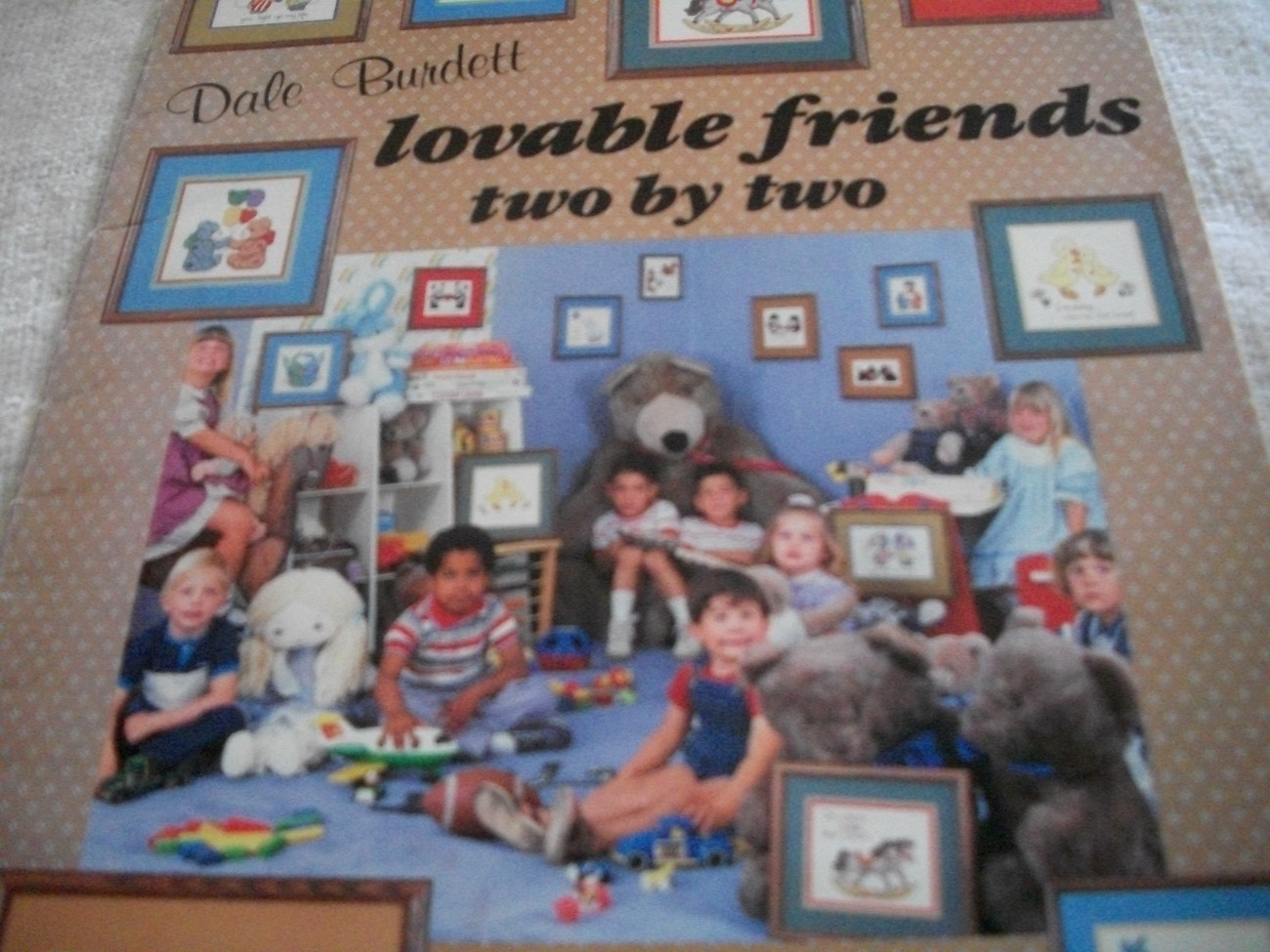 Lovable Friends Two by Two Cross Stitch Designs