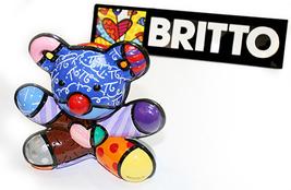 "Romero Britto ""Joy Bear"" 2008 - S/N Sculpture - Retail $125 - COA - See ... - $75.00"