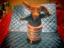 1976 DEMOCRAT DONKEY - Jim Beam 750 ml Porcelain Whiskey Bottle - Empty  - $8.50