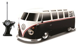 Maisto R/C 1:24 Scale Volkswagen Van Samba Radio Control Vehicle Colors ... - $61.83