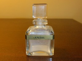 """Rare Collectible Perfume Bottle """"Jade La Habana"""" with Glass Stopper 2 1/... - $49.00"""