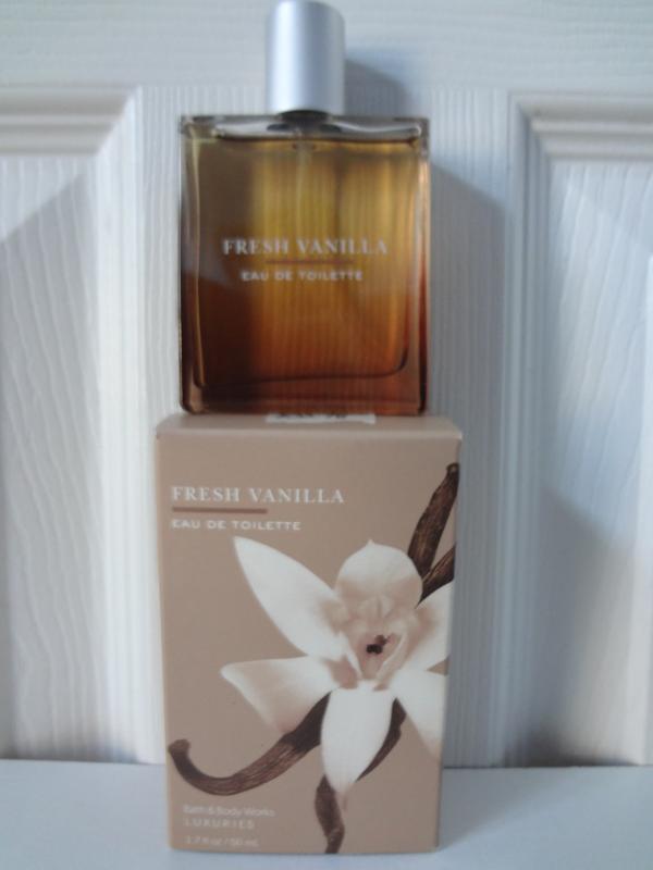 Bath & Body Works Luxuries Fresh Vanilla Eau De Toilette 1.7 oz / 50 ml