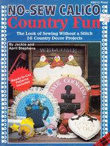 NO-SEW Calico Country Fun Chickens Ducks Stencils & More - $4.50