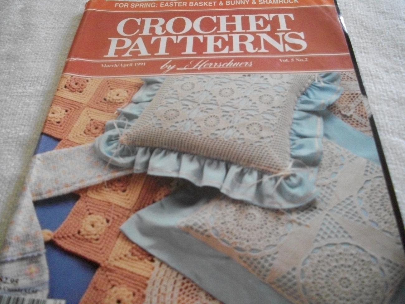 Crochet Patterns March/April 1991 Magazine - $5.00