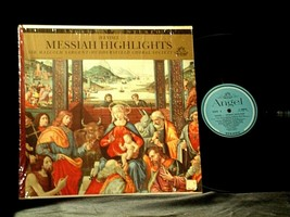 Handel ‎– Messiah Highlights AA-191763 Vintage Collectible image 2
