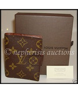 AUTH NIB Louis Vuitton MINI AGENDA COVER DIARY ... - $325.00