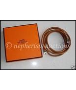 AUTH NIB Hermes VACHE BRIDE Ceinture Belt or Necklace - $375.00