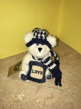 Boyds Bears Stuffed Plush Small Teddy Bear Adrienne Berrifrost Ornament W/tags - $9.99