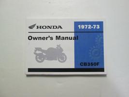 1972 1973 HONDA CB350F 350 Four Owner Owner's Owners Operators Manual NEW - $69.42