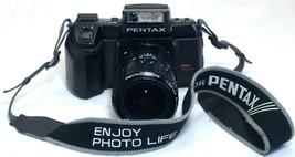 PENTAX SFXn Vintage 35mm FILM Camera 28-80mm f/3.5 Macro Zoom Lens ASAHI... - $73.80