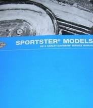 2014 Harley Davidson Sportster Service Reparatur Shop Handbuch Elektrisch & - $287.06
