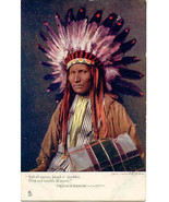 Tall of Stature Broad of Shoulder Tucks Oilette Post Card  - $15.00