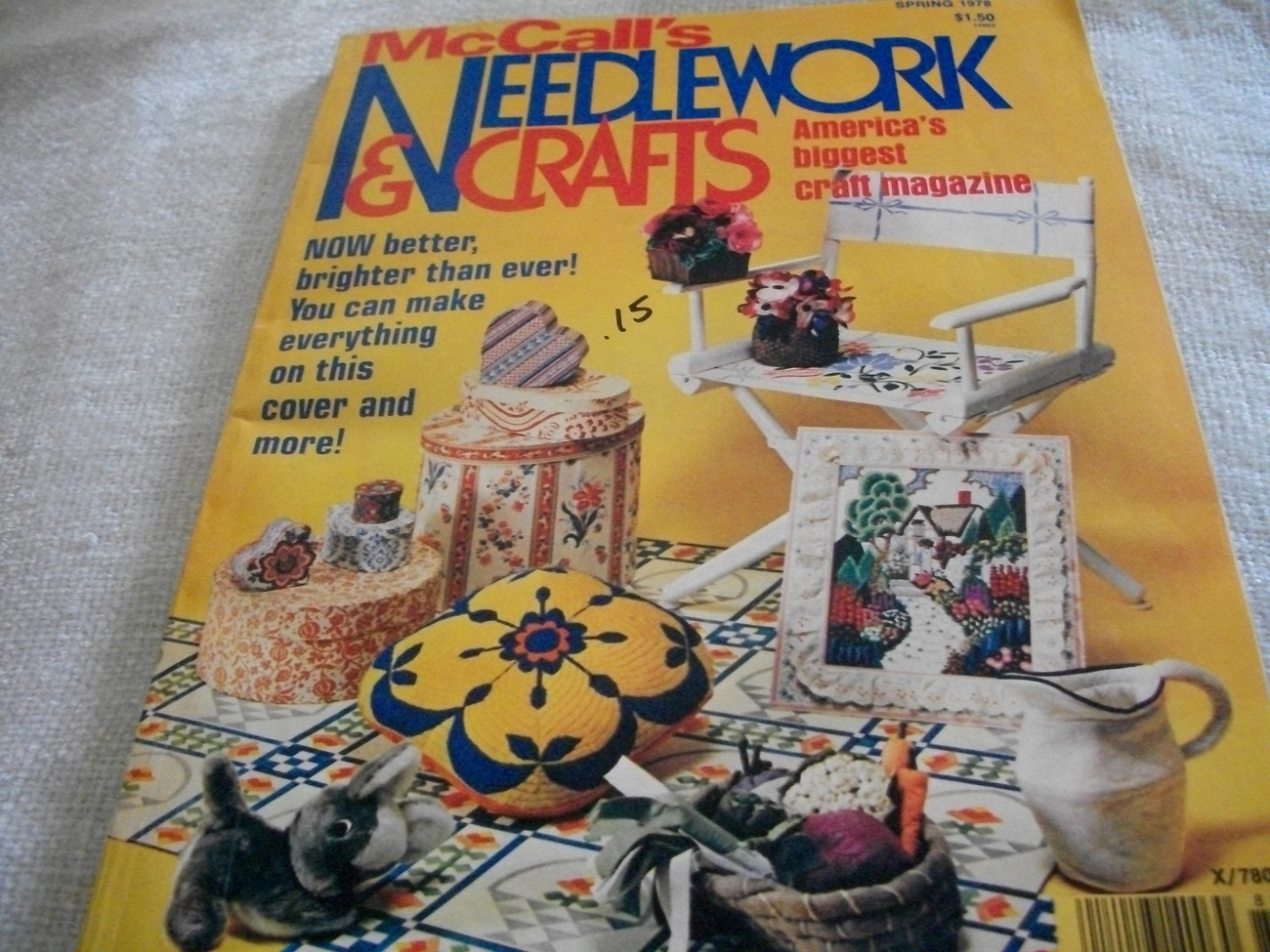 McCall's Needlework & Crafts Spring 1978 Magazine
