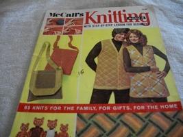 McCall's Knitting Book 5 Magazine - $6.00