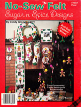 NO-SEW Felt Sughar 'n Spice Designs For Christmas Stocking O - $5.95