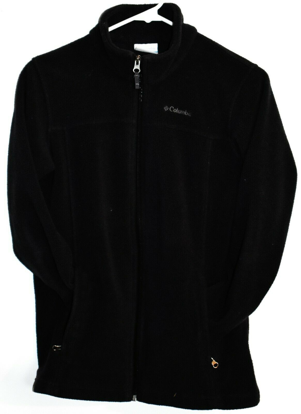 Columbia Sportwears Boys' Steens Mountain II Black Fleece Jacket Size L 14/16