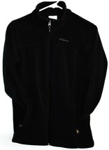 Columbia Sportwears Boys' Steens Mountain II Black Fleece Jacket Size L 14/16 image 1