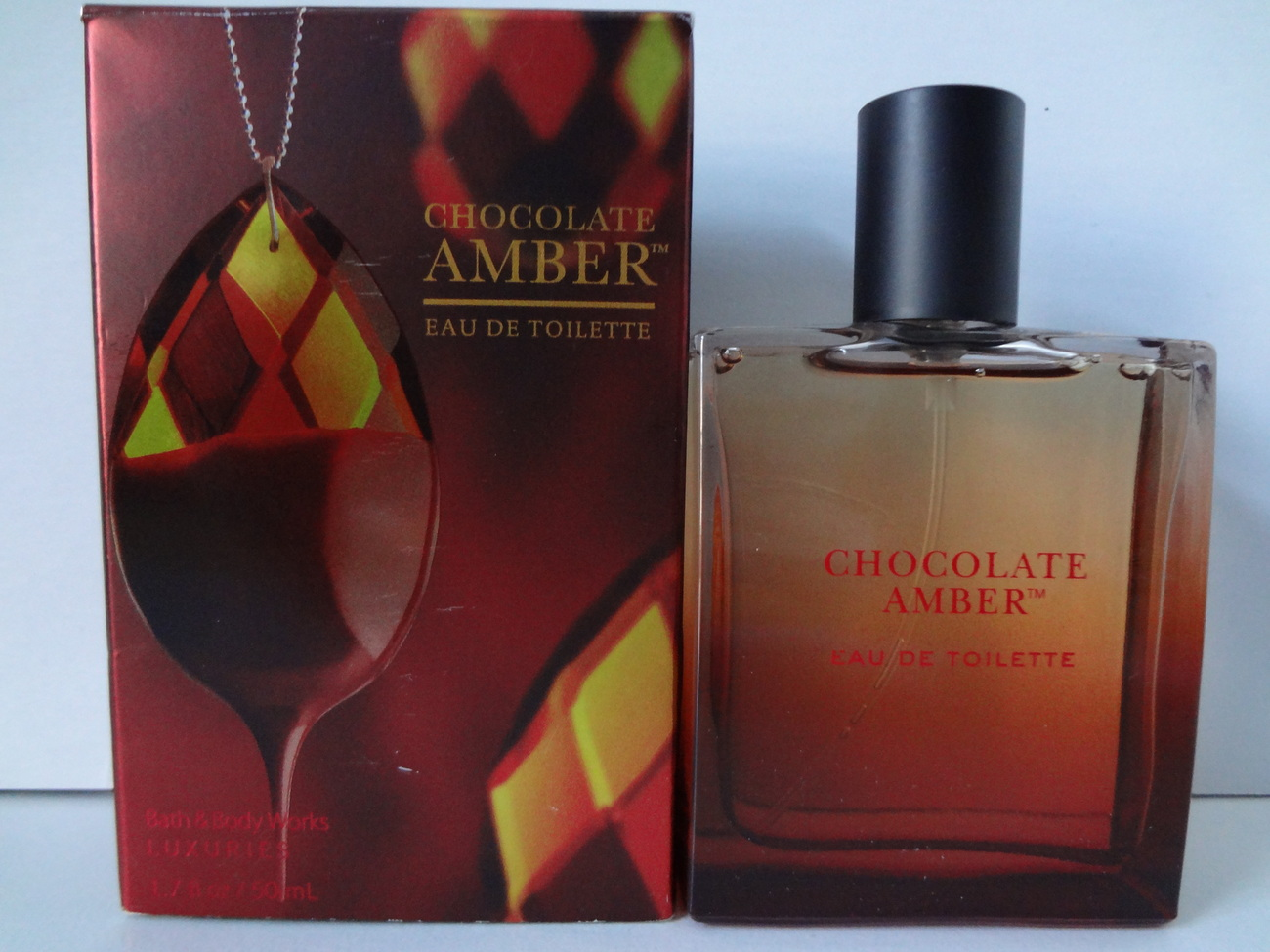 Bath & Body Works Luxuries Chocolate Amber Eau de Toilette 1.7 oz / 50 ml