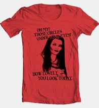 The Munsters T-shirt Lily How Lovely retro 60s TV graphic printed NBC336 RED image 2