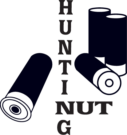 HUNT DECAL #HT1/240 HUNTING NUT SHELLS AMMO SHOT GUN DEER SHOOT CAR TRUCK AUTO