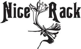 Hunt Decal #Ht2/219 Nice Rack Horns Moose Elk Shoot Gun Bow Car Truck Auto Suv - $14.75
