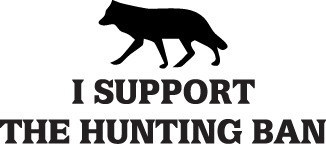 HUNT DECAL #HT2/90 SUPPORT HUNTING BAN WOLF DEER ELK MOOSE CAR TRUCK AUTO SUV