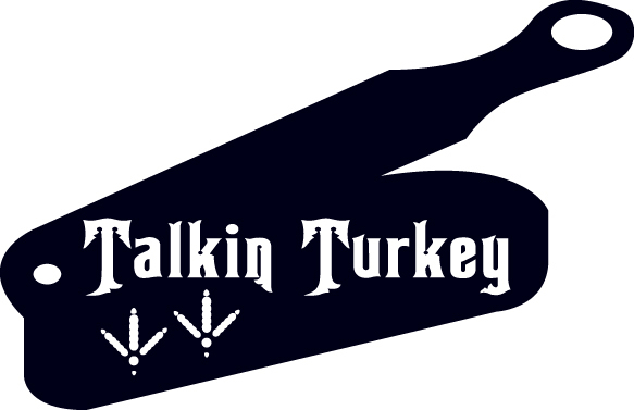 HUNT DECAL #HT5/109 TALKING TURKEY FEET TRACKS DRUMSTICK POULTRY CAR TRUCK SEMI